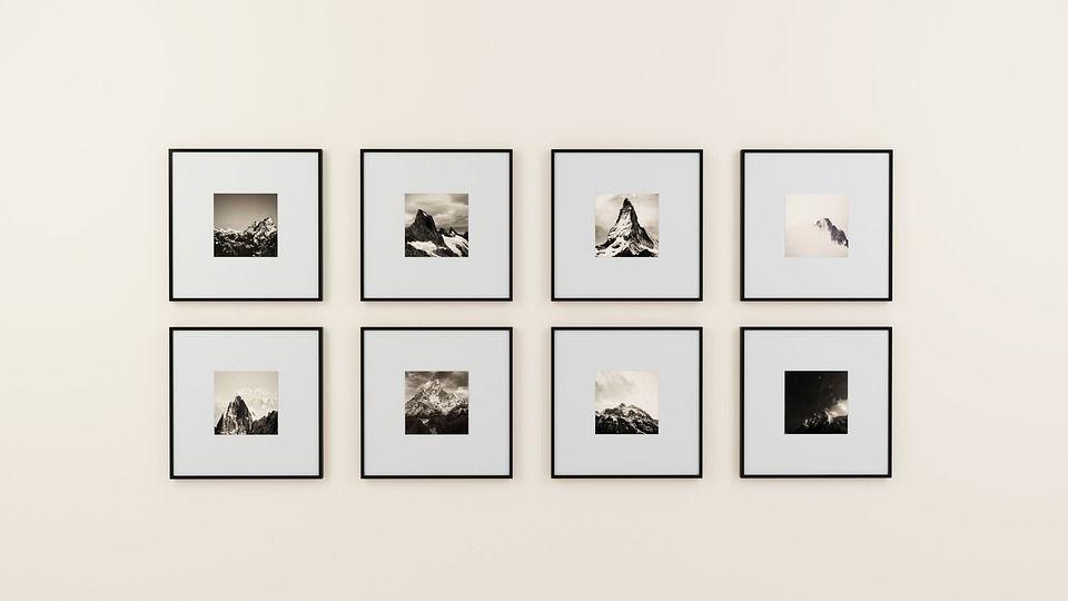 La Pared, Marco De Fotos, Pantalla, Interior, Diseño