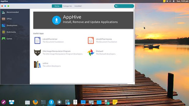 Enso OS AppCenter AppHive