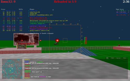 BZFlag - 3D networked multi-player multi-platform tank battle game