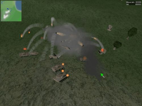 Boson - OpenGL real-time strategy game - LinuxLinks