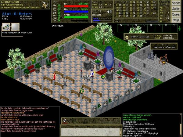 Daimonin - free to play open source MMORPG - LinuxLinks