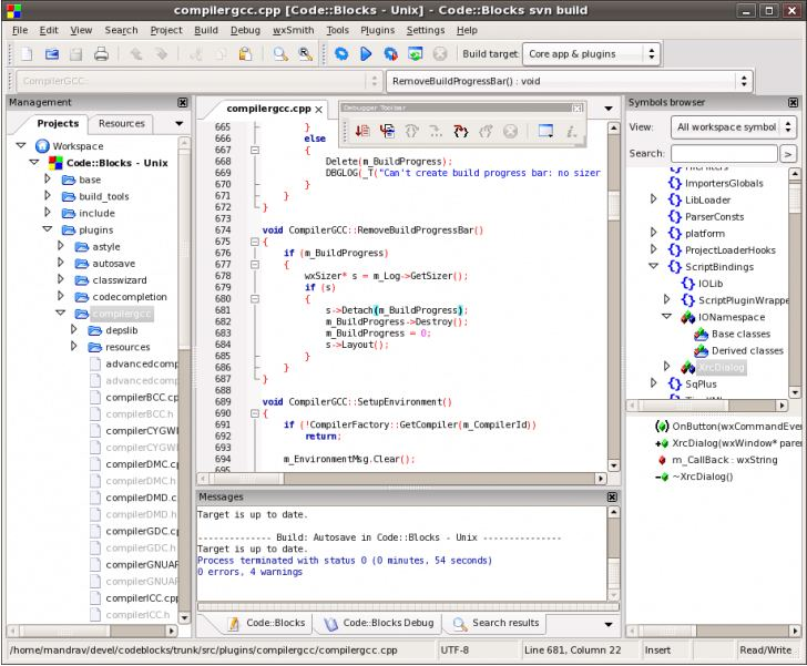 Code::Blocks - C, C++ and Fortran IDE - LinuxLinks