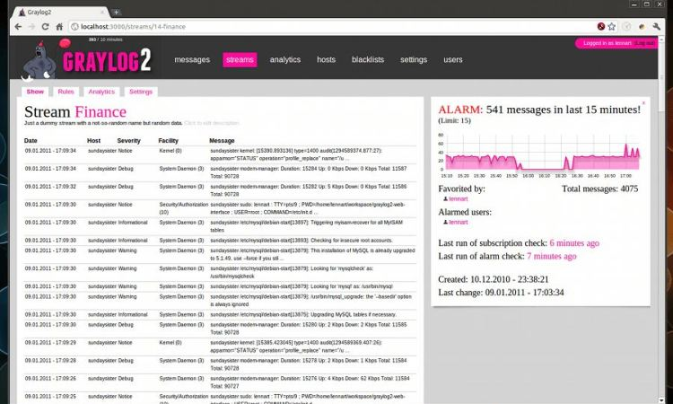 Top 8 Log Analyzers - LinuxLinks