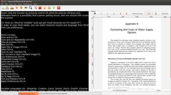 6 Useful OCR Tools - LinuxLinks
