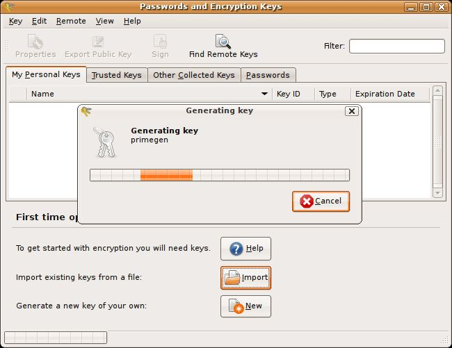 generate encryption key from password