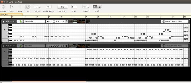 Aria Maestosa - Open-source (GPL) midi sequencer/editor