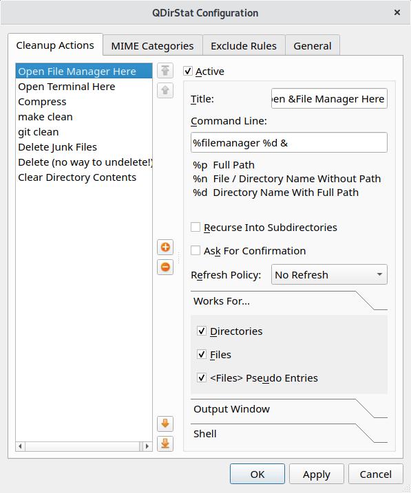 Essential System Tools: QDirStat - Excellent Qt-based