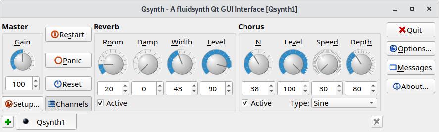 FluidSynth - a SoundFont synthesizer - LinuxLinks
