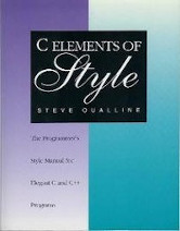 C Elements of Style