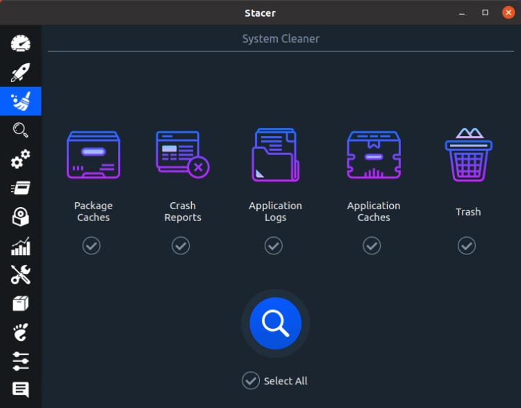 Linux for Starters - Stacer