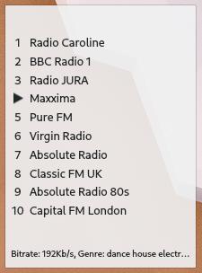 Advanced Radio Player