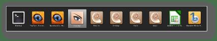 Linux Mint 12 Barra