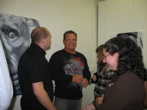 Jerry Lawler and some of Nicki's friends from work/ILS