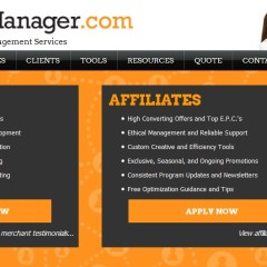 Manage Your Affiliate Programs With Affiliate Manager