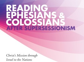 Reading Ephesians & Colossians After Supersessionism (Cover image)