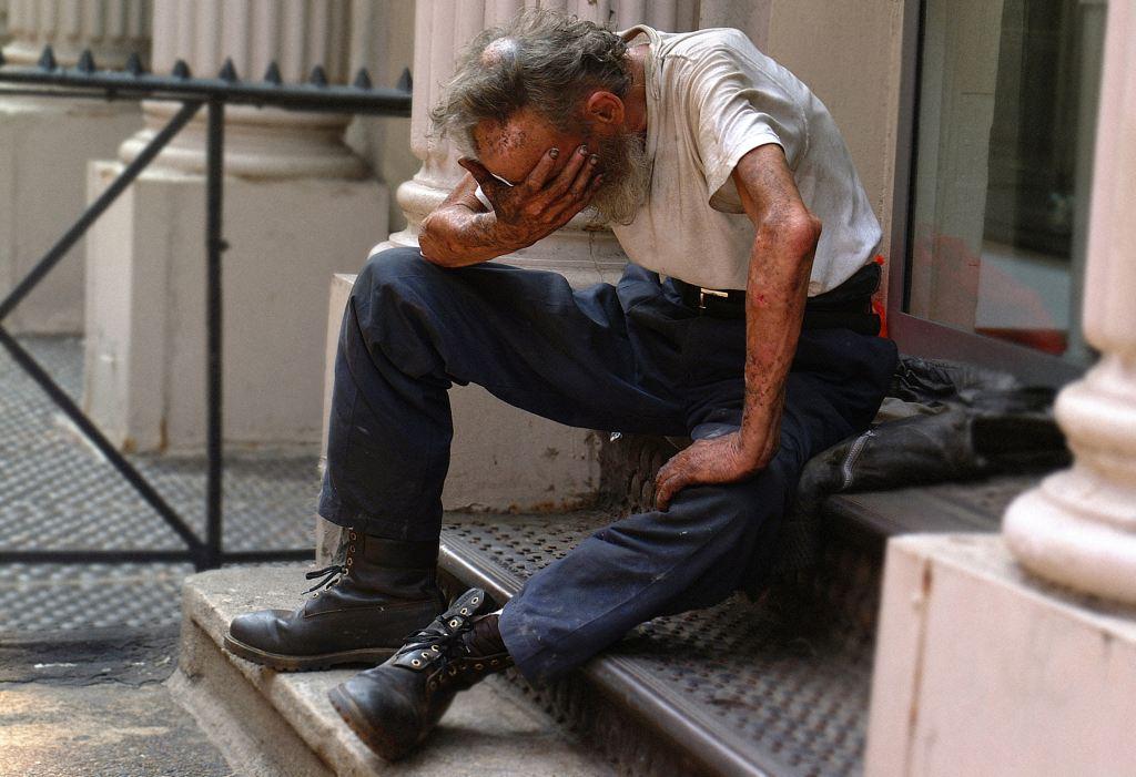 Feeling weak and desperate. Photo by Ben Hershey on Unsplash