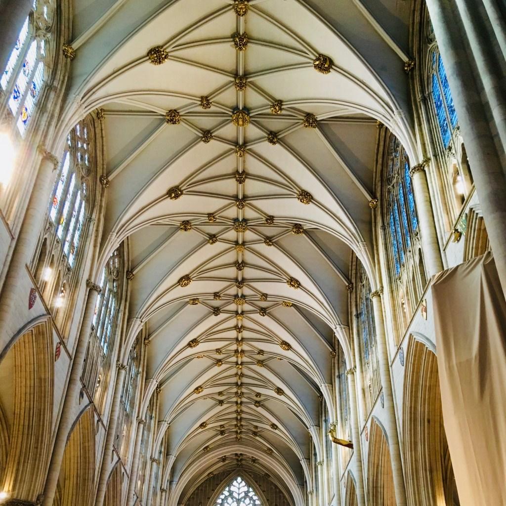 Ceiling of York Minster