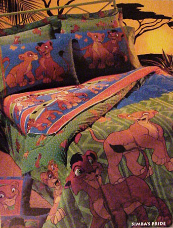 Bed Sheets Lion King Tokida For