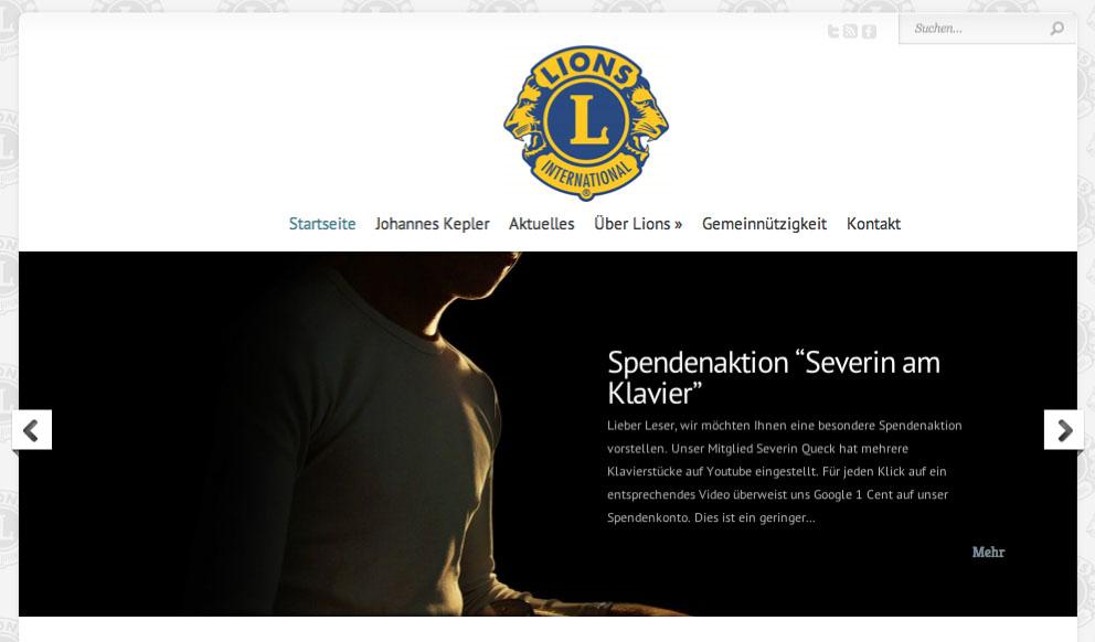 Internetpräsenz des LC Regensburg Johannes Kepler