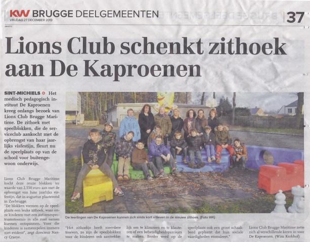 Lions Brugge Maritime Kaproenen
