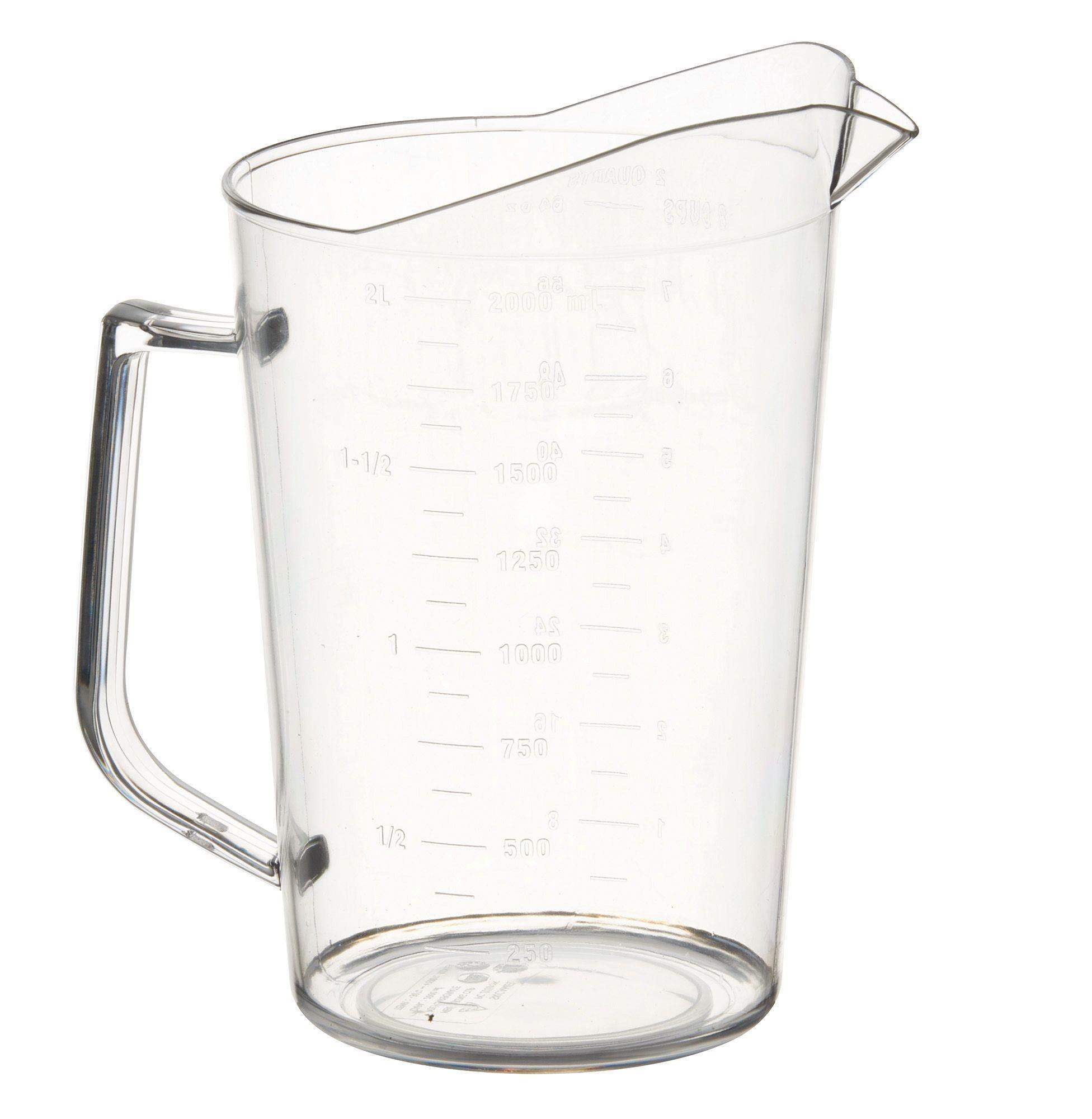 Polycarbonate 2 Quart Measuring Cup