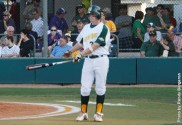 Cody Gougler drove in the game-winning run and extended his hitting streak to ten games.