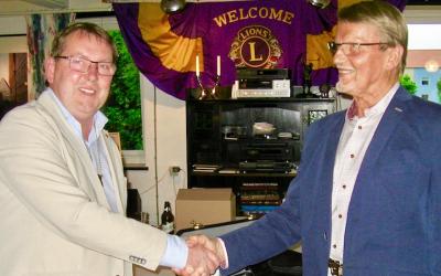 Presidentbyte i Lions Club Staffanstorp
