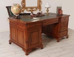 Schreibtisch aus Mahagoni Massivholz   Lionsstar GmbH