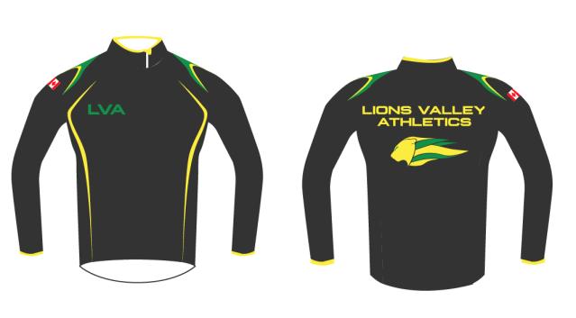 Lions Valley Athletics Training Gear