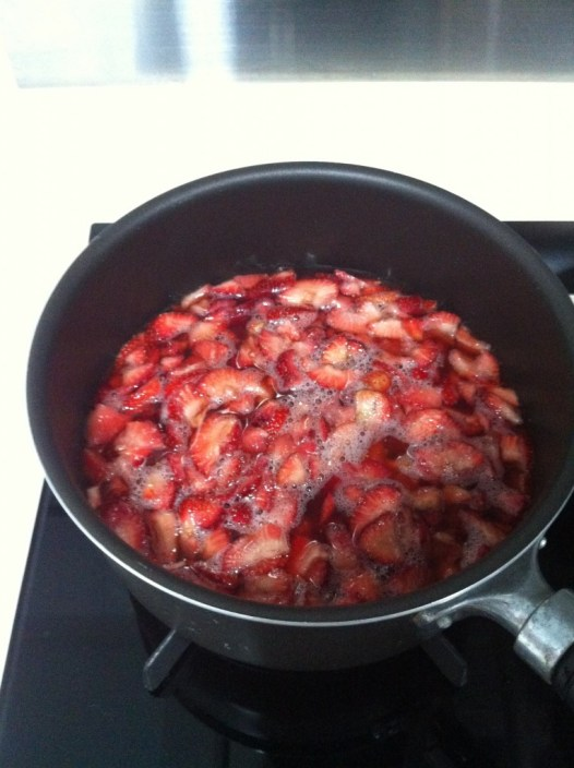 草莓果醬 homemade strawberry jam