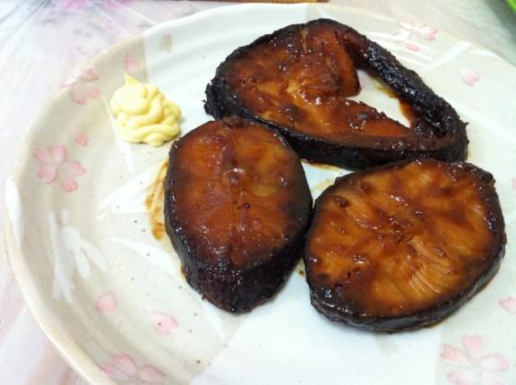 西京燒銀鱈魚 Black Cod Saikyo Yaki