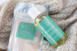 WELL Products Bath Soak and Massage Oil Lipgloss Aftershave Blog