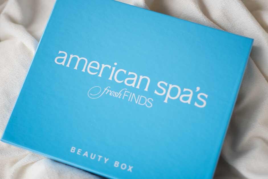 American Spa Fresh Finds Box December