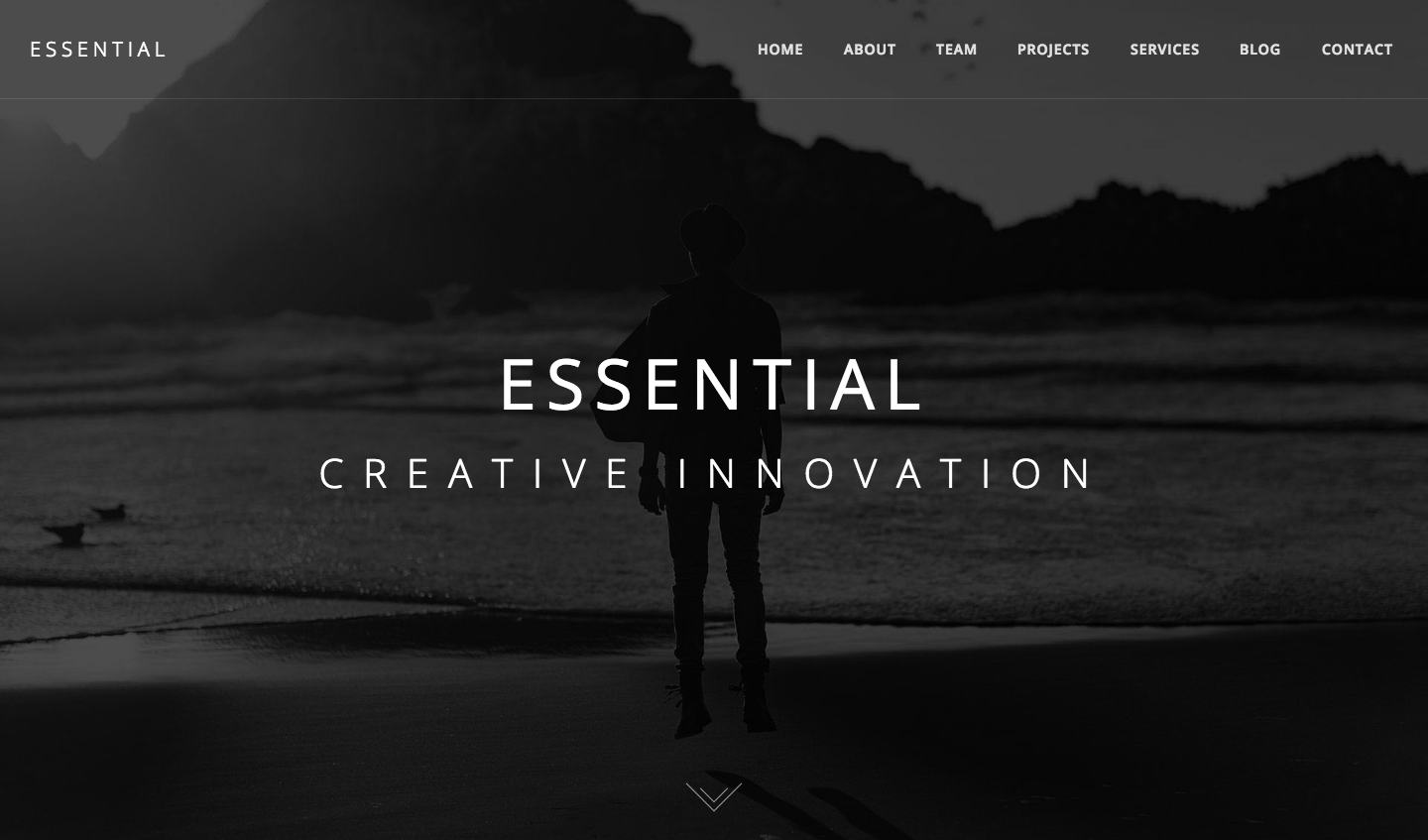 Essential – Responsive Minimal One Page WordPress Theme.png