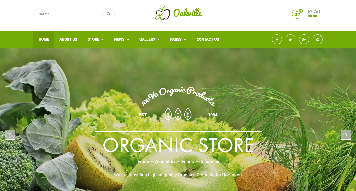 Oakville - Organic Food, Agriculture, Farm Services and Beauty Products WP Theme.png