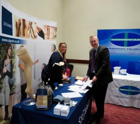 Heather Wright & CarlMiles of Sigvaris