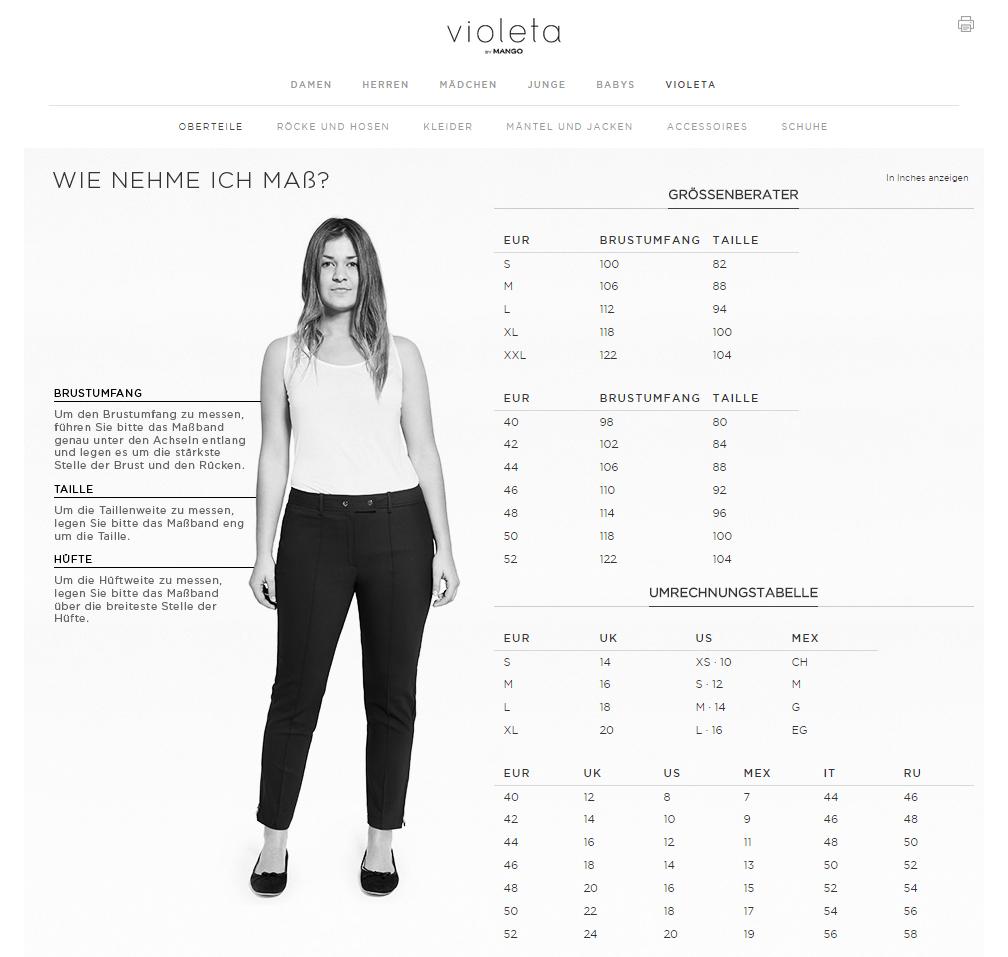 Plus Size Online-Shop Empfehlung: Violeta by Mango