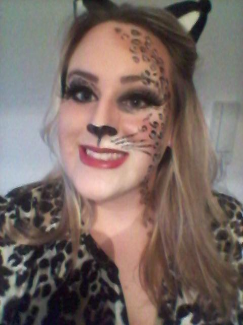 karneval lipödem mode fasching leopard