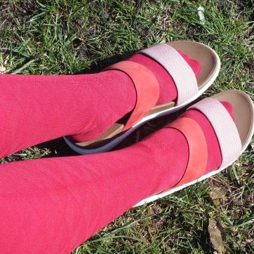 Fitflops lipödem mode medi kirschrot sandalen schuhe
