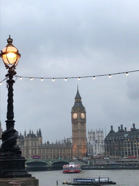 Reisen mit Lipödem London Big Ben