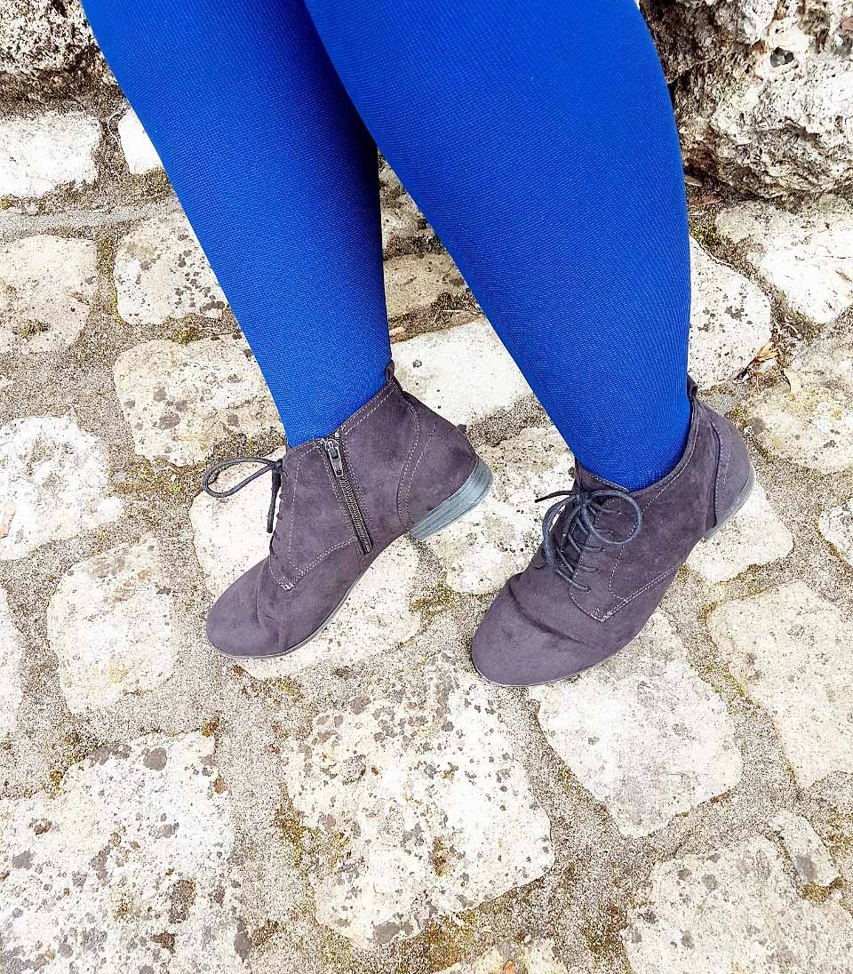 lipoedem fashion juzo blueberry outfit