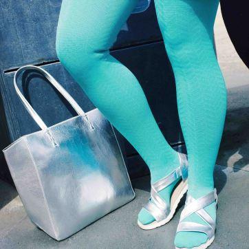 lipoedem mode outfit medi mintgruen