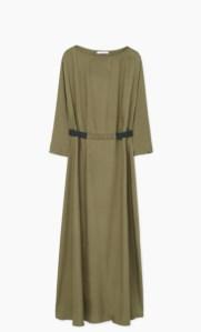lipoedem mode Kleid mit kontrastierender Taille