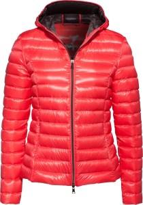 lipoedem mode Rote Daunenjacke