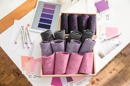 lipoedem mode medi color combinations pattern 2018 purple pink flower flat knit flatknit lipoedema lymphedema lymphoedema lipodema