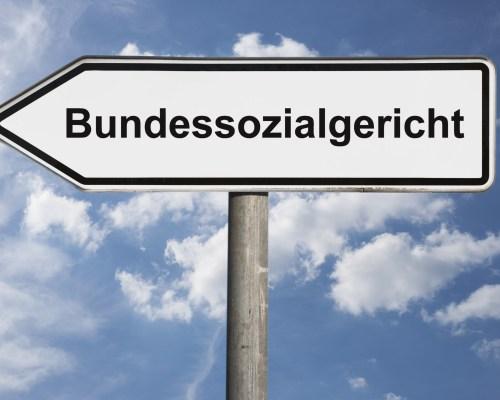 Wegweiser Bundessozialgericht | signpost Federal Social Court bsg-urteile