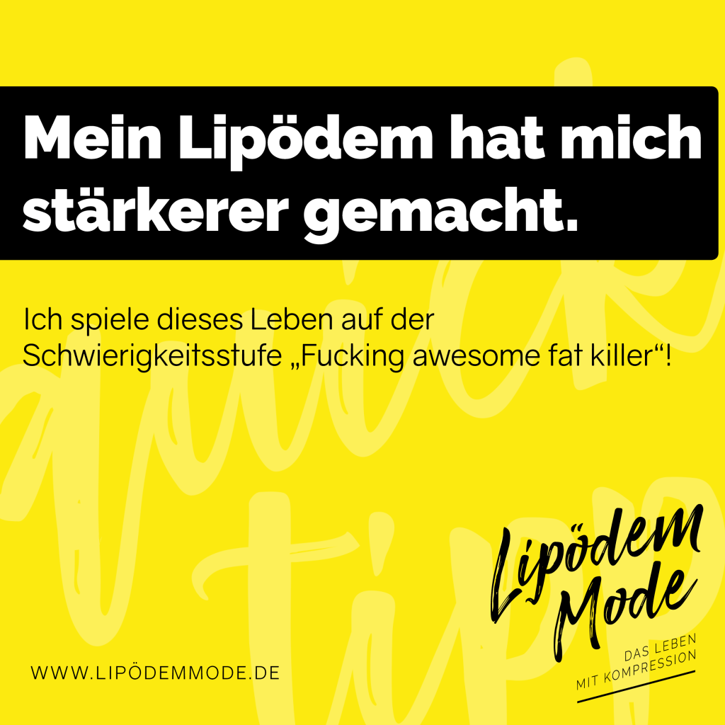 Lipödem Mode lymphödem tipps infos motivation