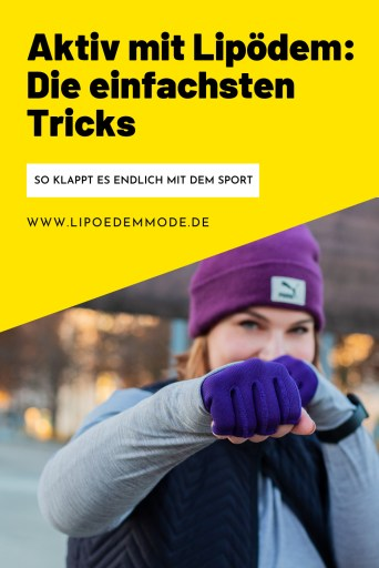 sport mit lipödem kompression tricks lipedema lymphedema compression abnehmen weightloss motivation