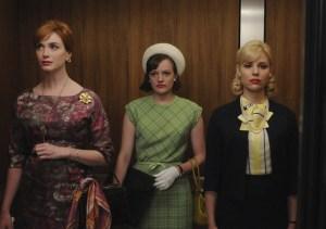 Joan, Peggy, Faye-Elevator