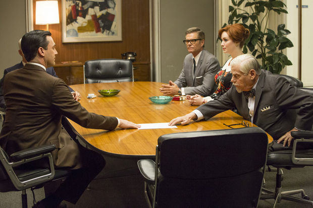 Mad Men-Field Trip-Partner's Meeting with Don